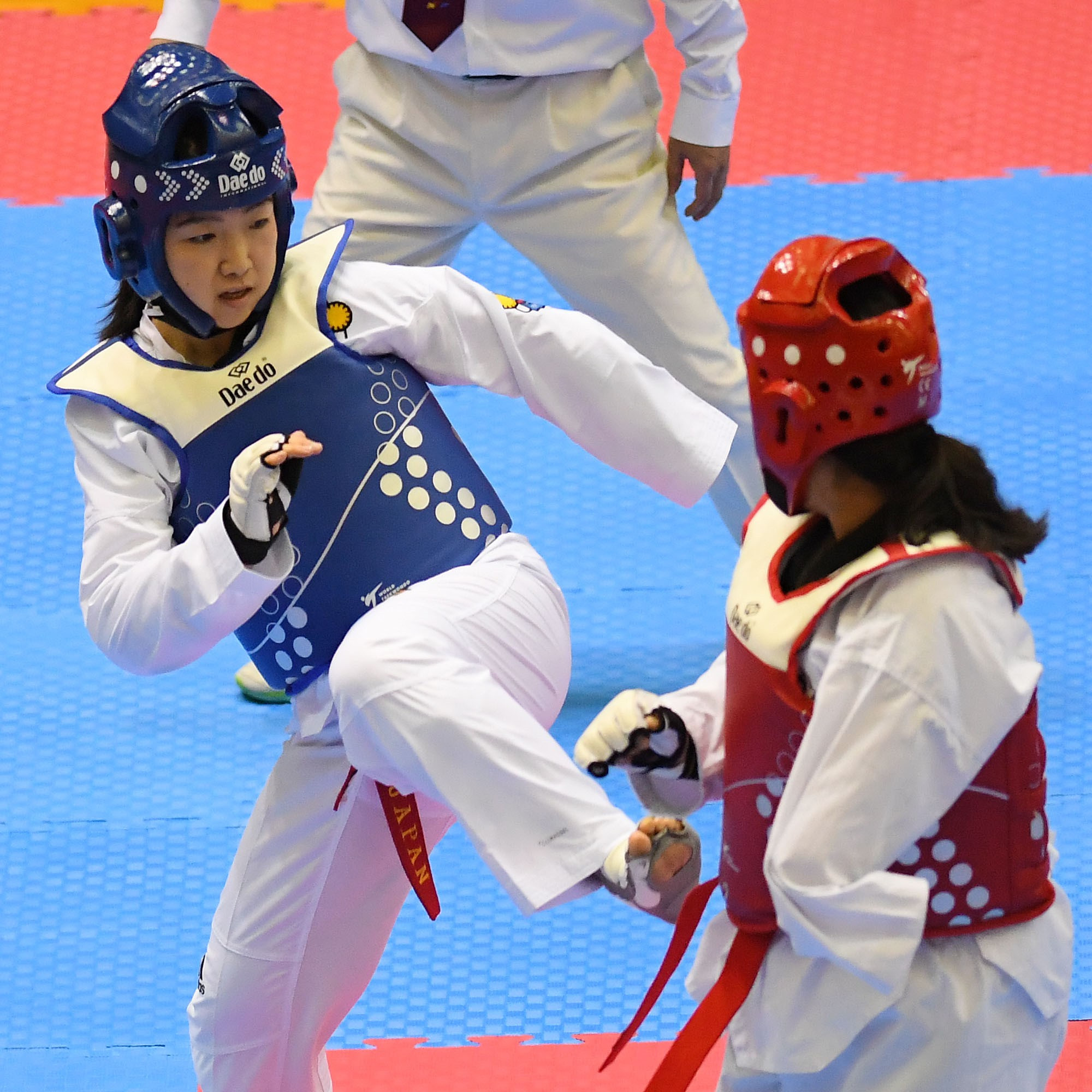 Shoko Ota has swapped skis for the taekwondo mat ©Getty Images