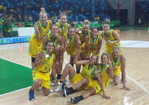 Australia crowned winners of Rio 2016 basketball test event