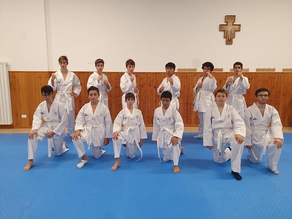 Italian Taekwondo Federation organises course for Vatican City students