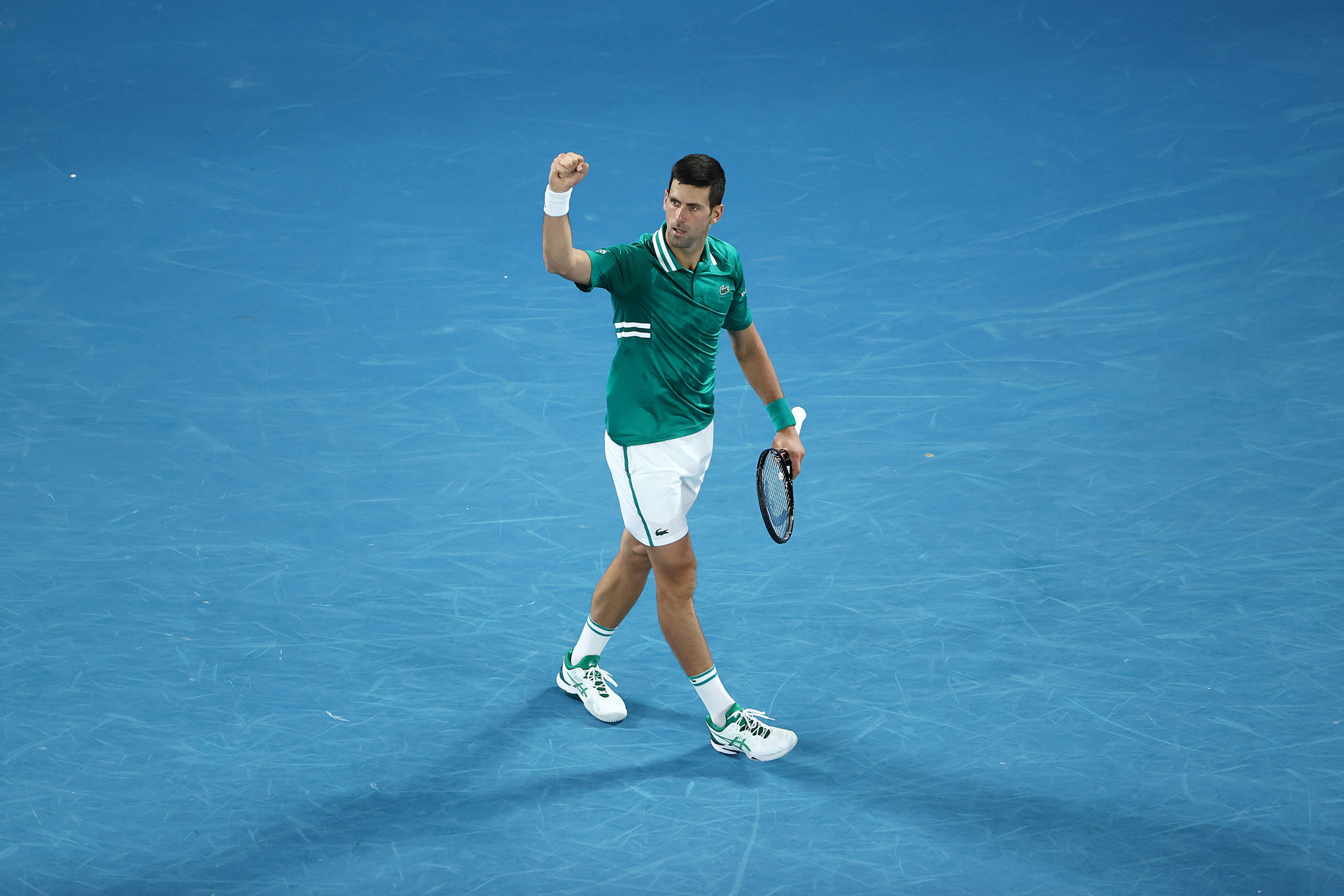 In the men's singles, world number one Novak Djokovic booked a place in the semi-finals ©Getty Images