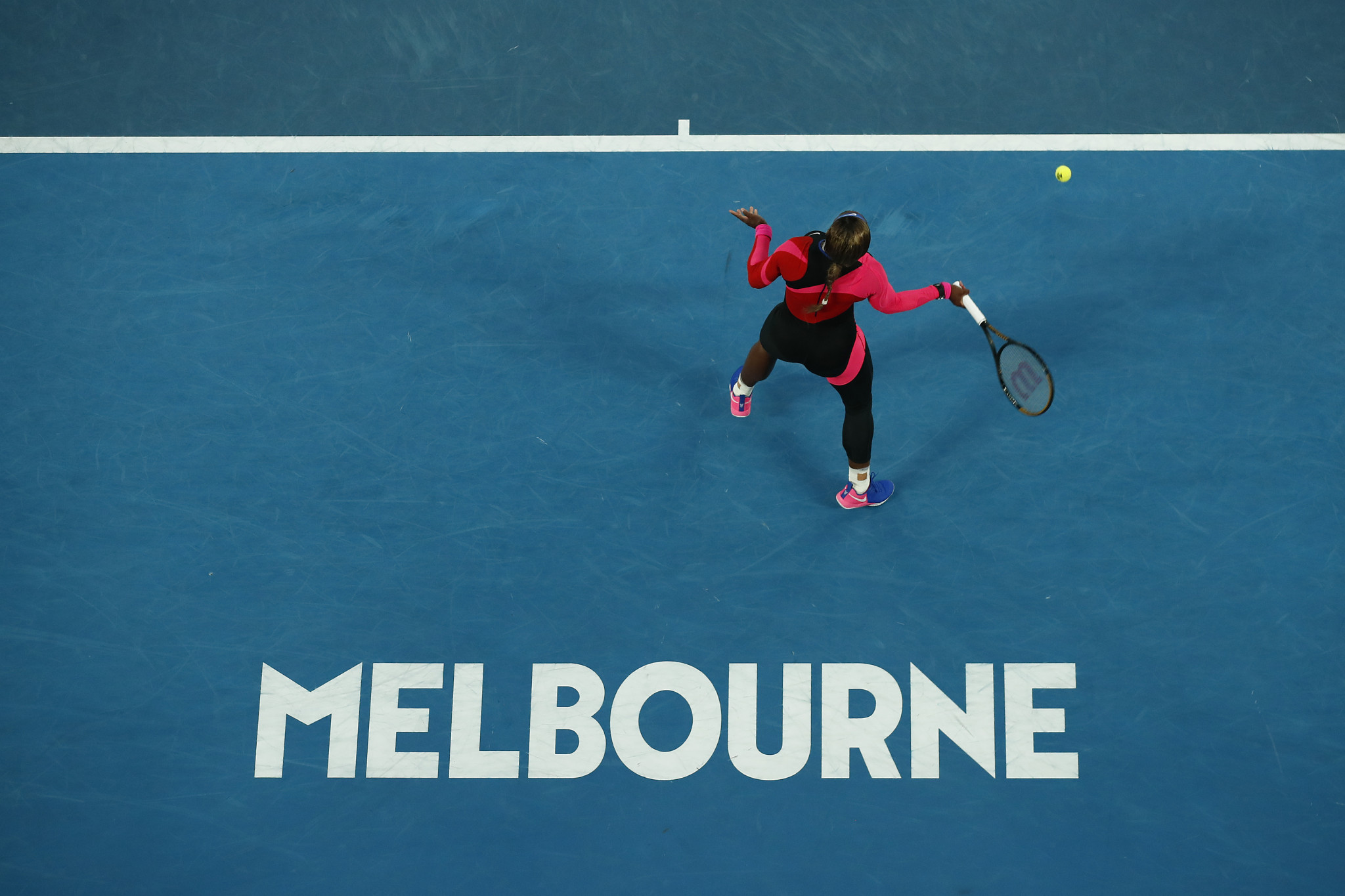 Williams continues quest for 24th Grand Slam title at Australian Open