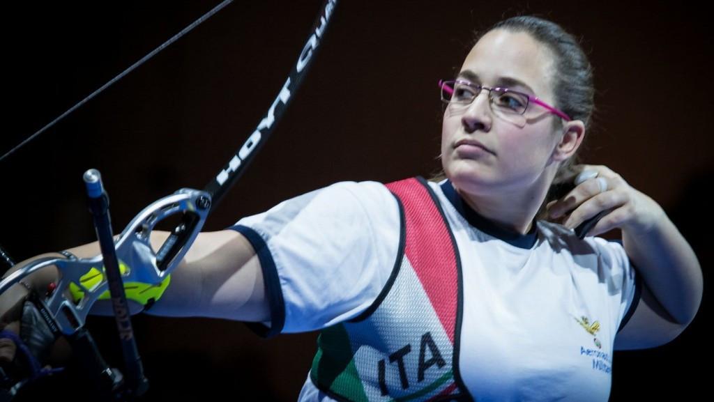 Sensational Sartori earns second Indoor Archery World Cup win of season