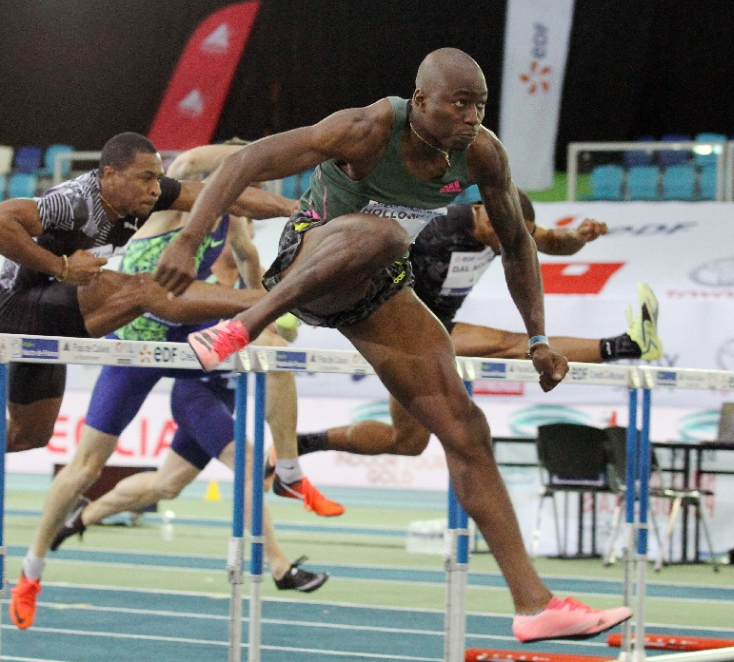 Holloway has Jackson's world 60m hurdles record in sights as World Indoor Tour Gold comes to Torun