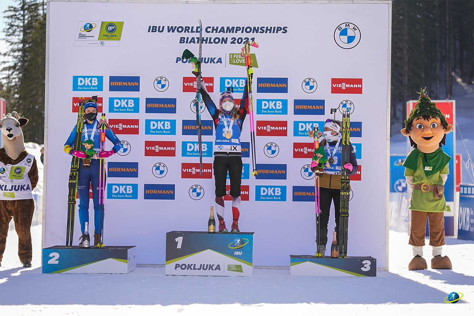Dead-eye Davidová shoots cleanly to clinch individual gold at IBU World Championships