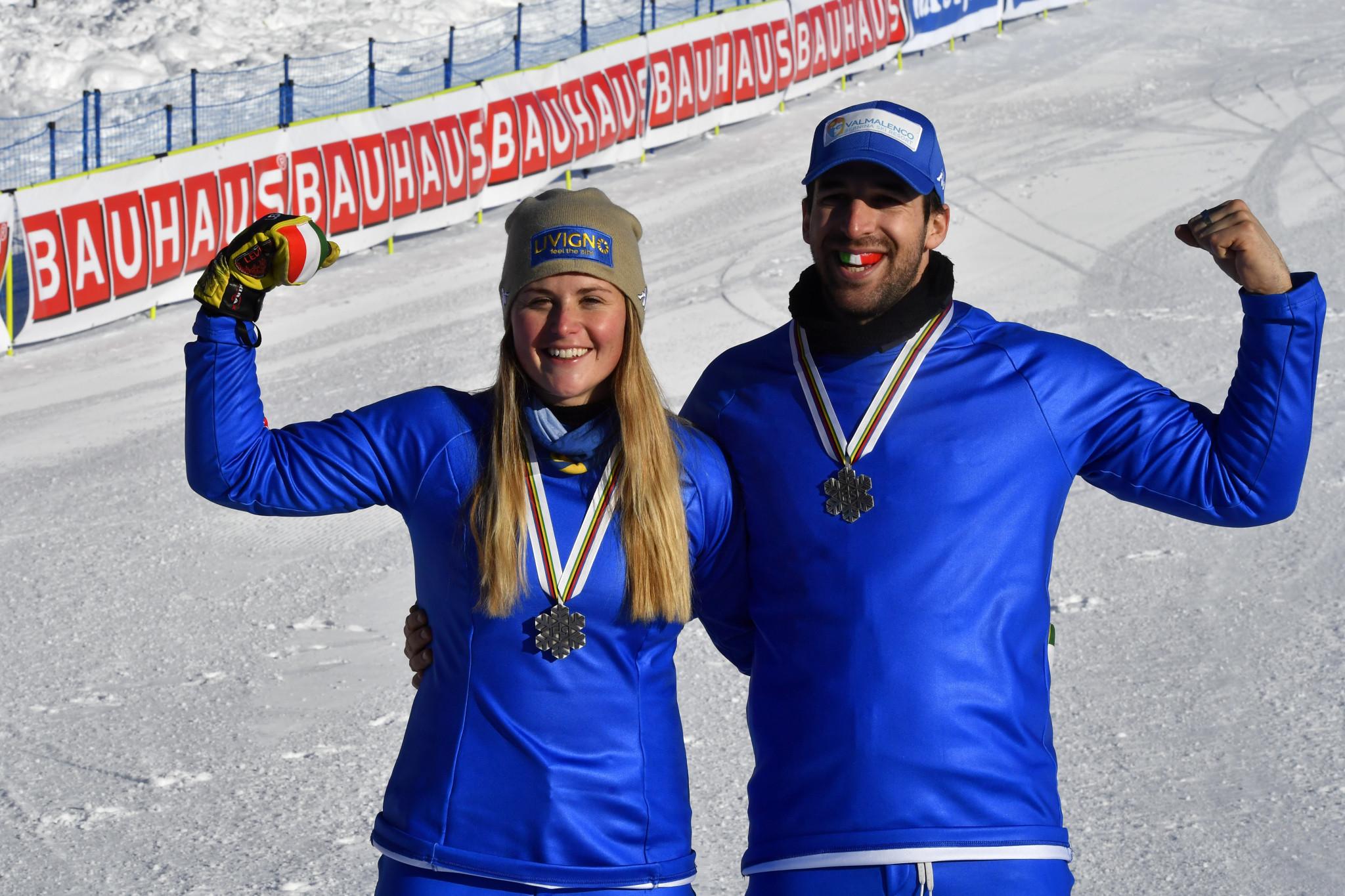 Italians hit ground running at Snowboard Cross World Cup in Austria