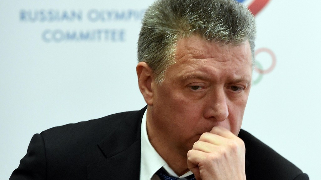 Former Russian Athletics Federation President Dmitry Shlyakhtin has been handed a four-year ban ©Getty Images