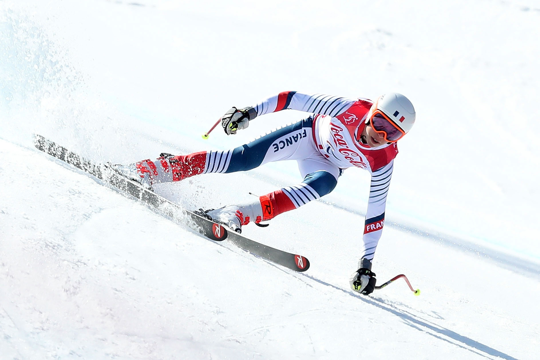 France's four-times Paralympic silver medallist Arthur Bauchet had to settle for second place in the opening giant slalom race at the event in Leogang ©Getty Images
