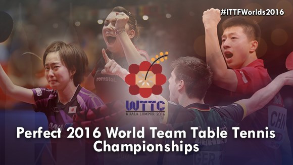 The draw for the World Team Table Tennis Championships has taken place ©ITTF
