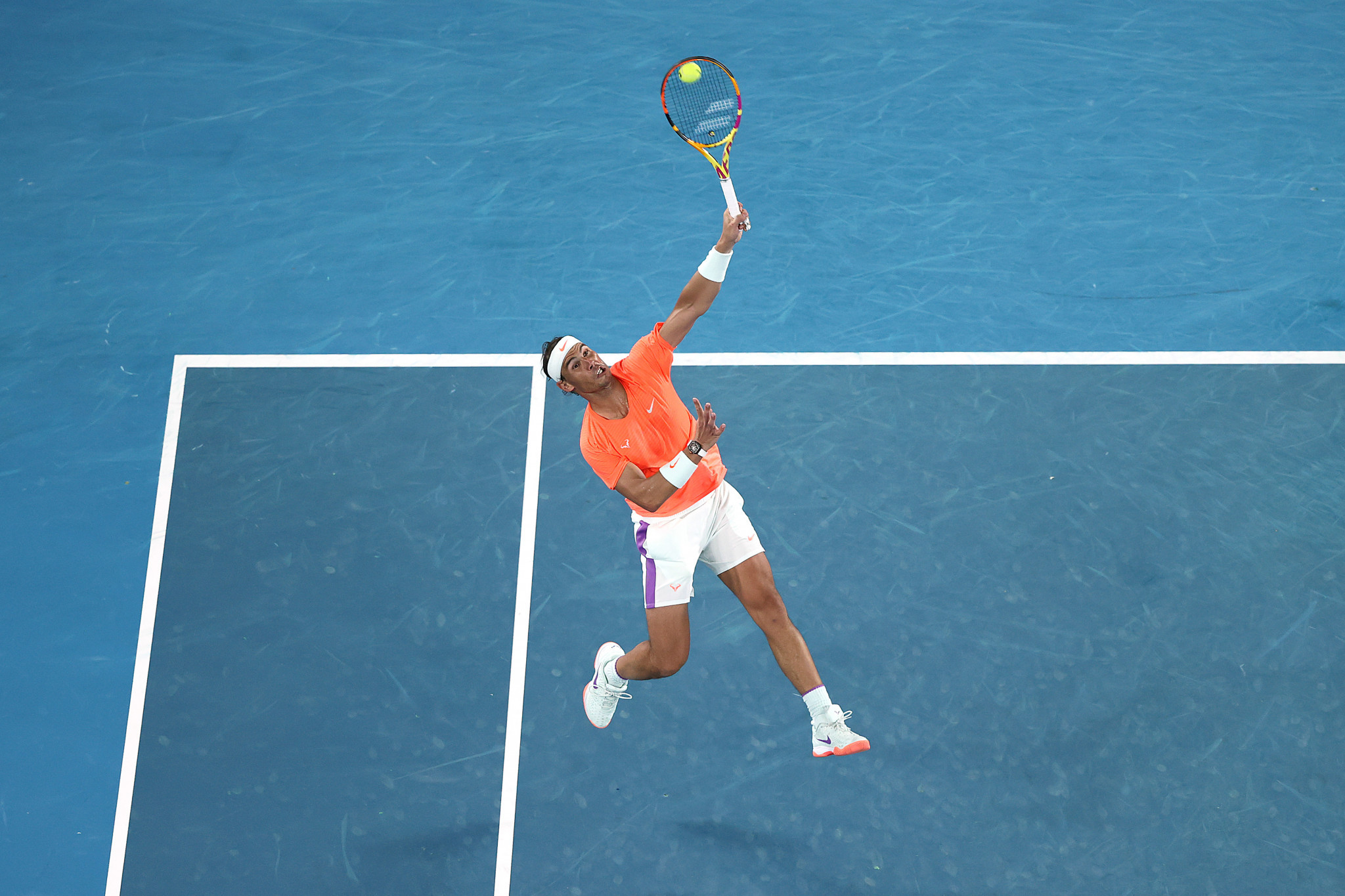 Rafael Nadal won the opening two sets of the contest ©Getty Images