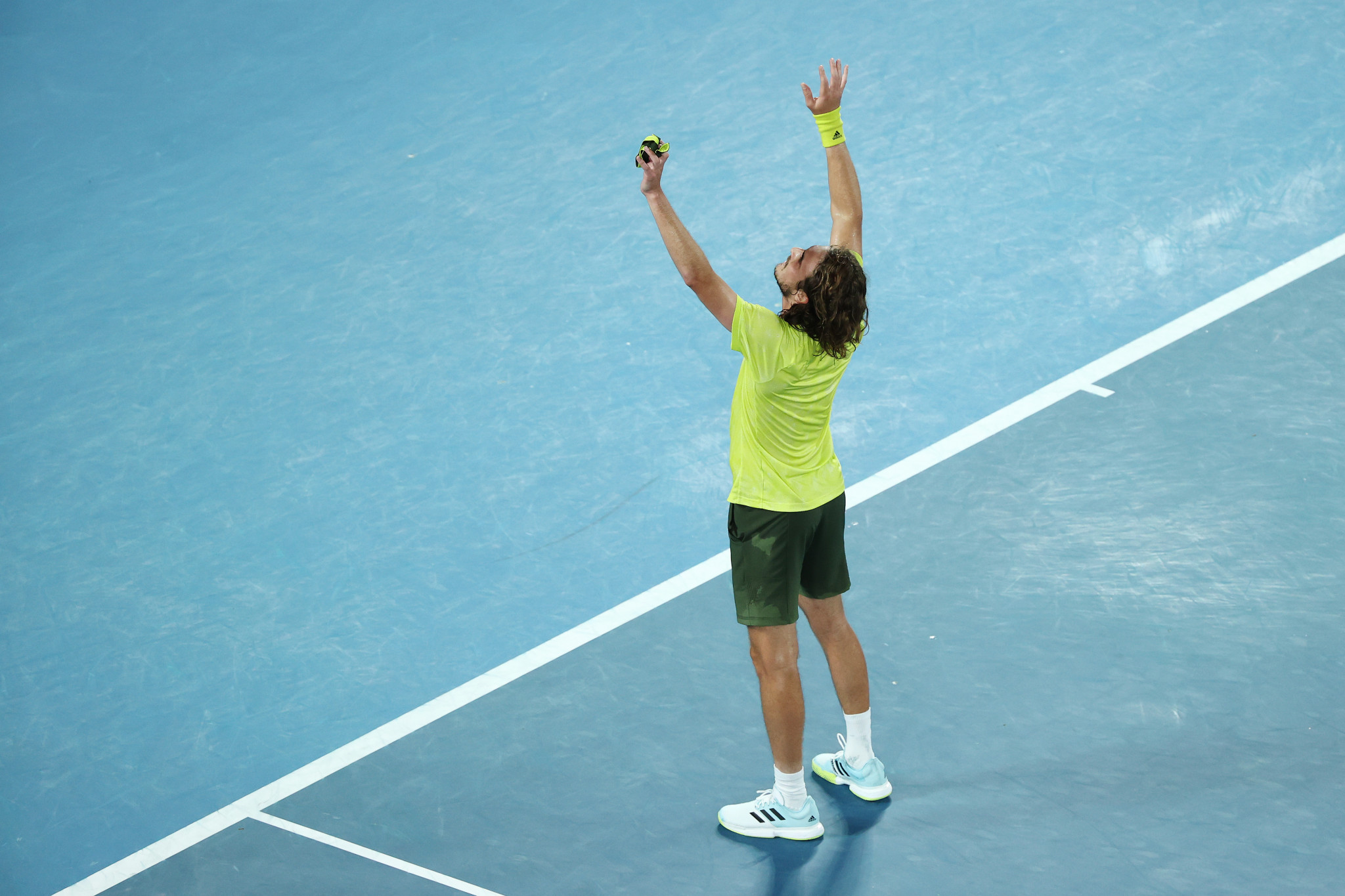 Tsitsipas stars on second day of quarter-finals at Australian Open