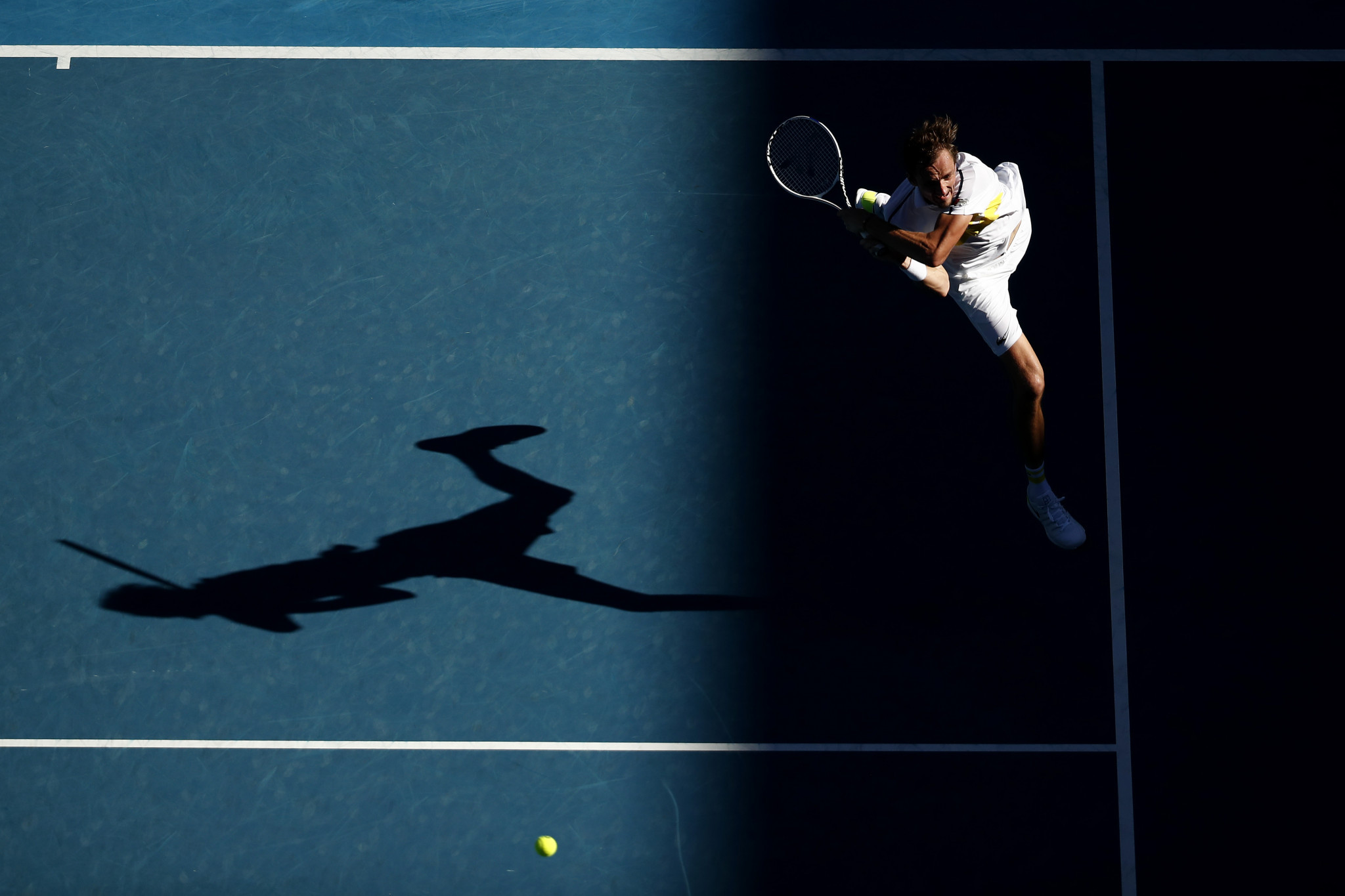 Daniil Medvedev earned a straight sets win in his men's singles quarter-final ©Getty Images