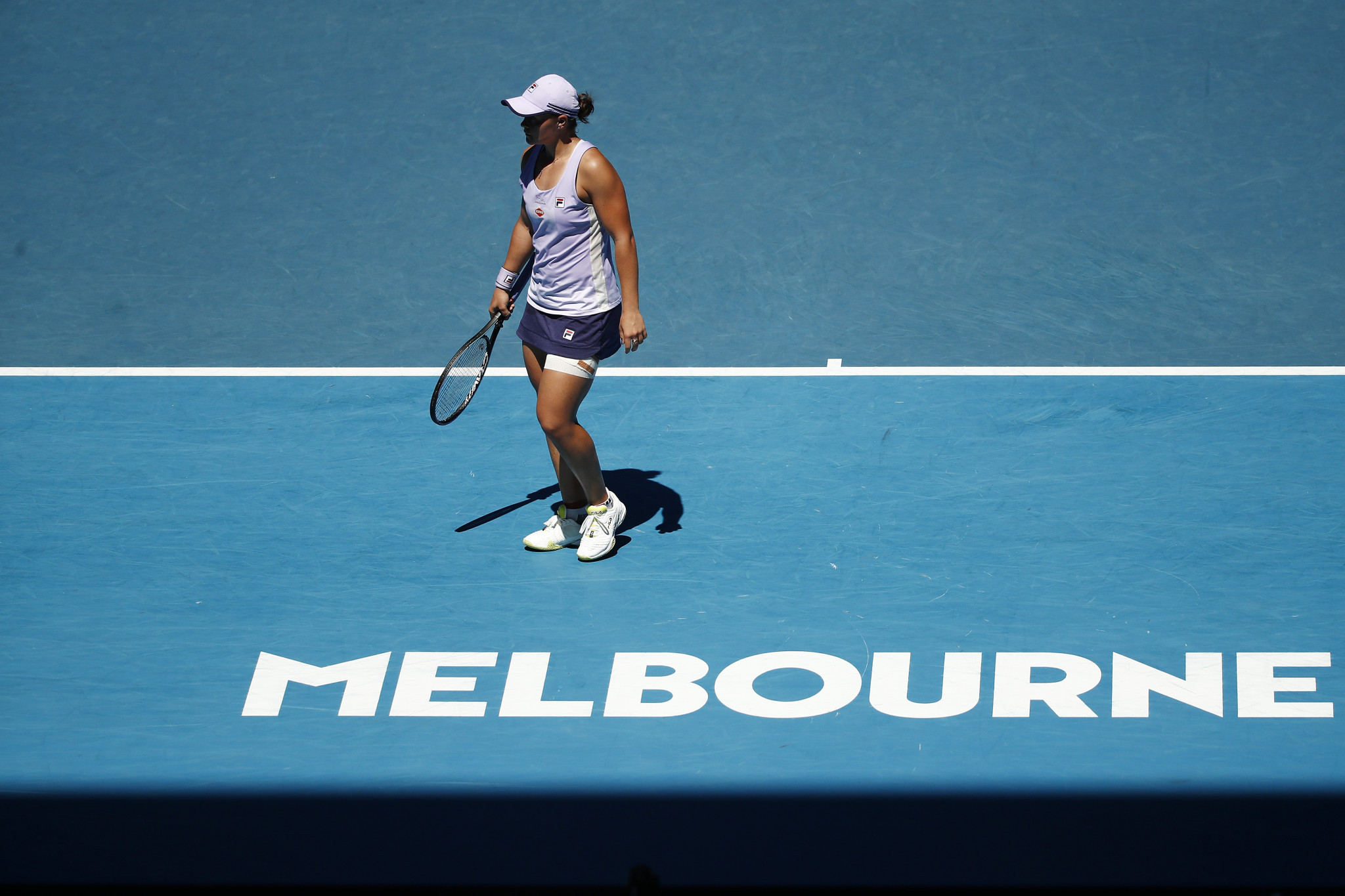 Ashleigh Barty was unable to prevent a comeback as home hopes were ended ©Getty Images