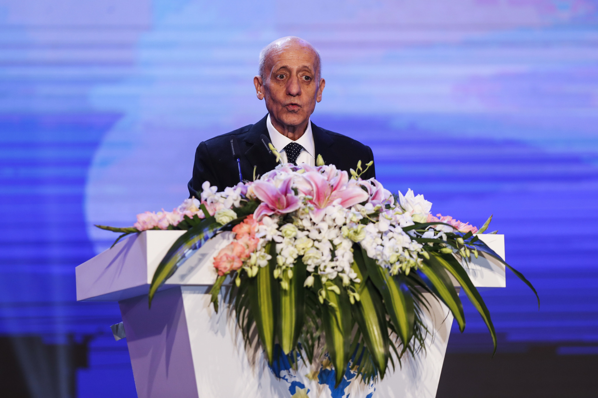 Julio Maglione is set to step down as International Swimming Federation President later this year ©Getty Images