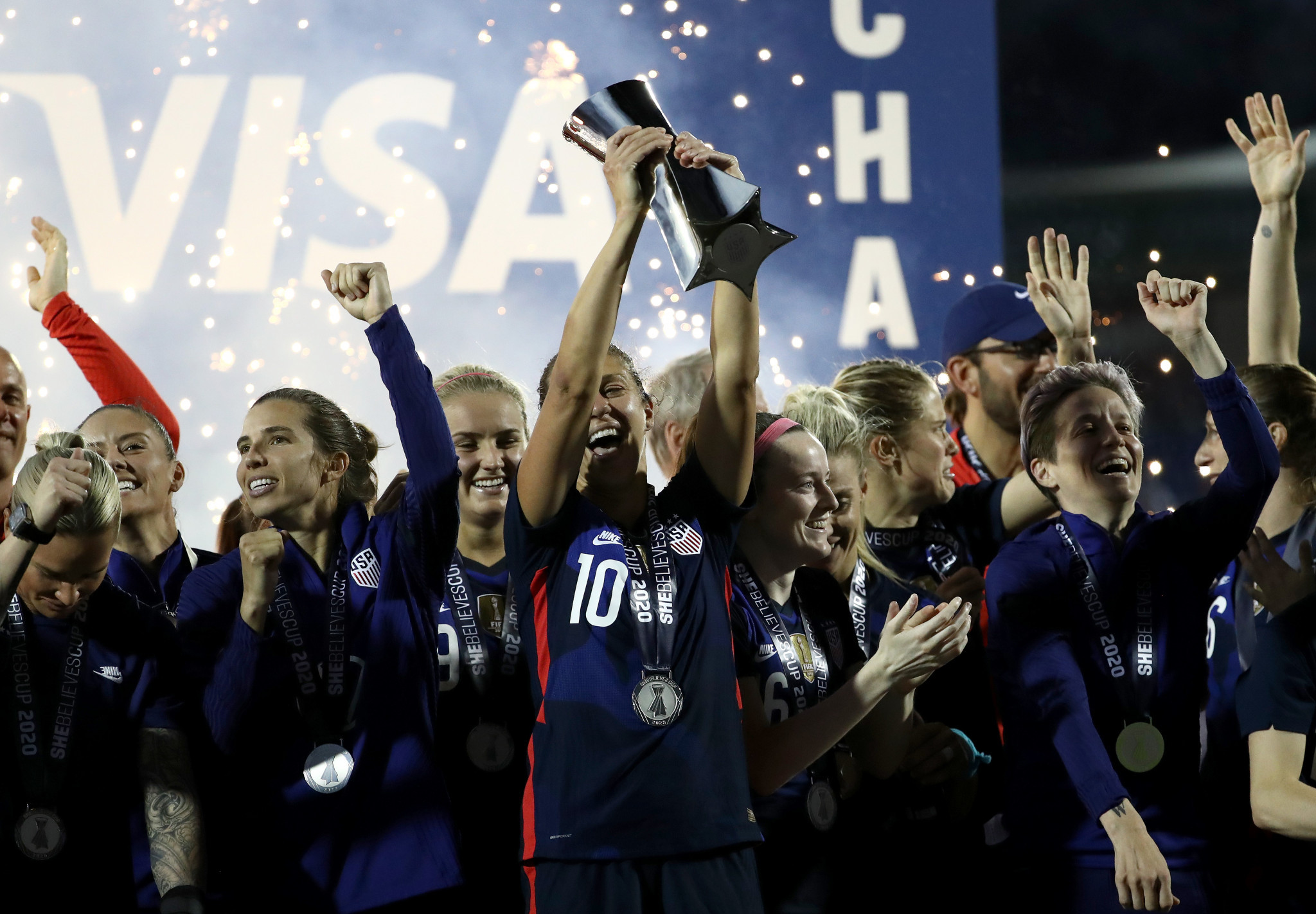 United States, Canada and Brazil to step up Olympic preparations at SheBelieves Cup