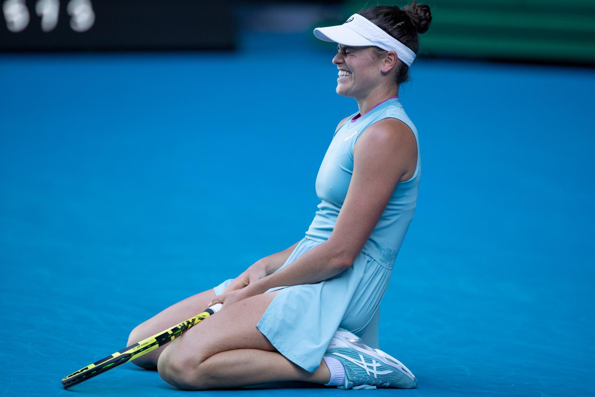 Jennifer Brady progressed to her first Grand Slam final ©Getty Images