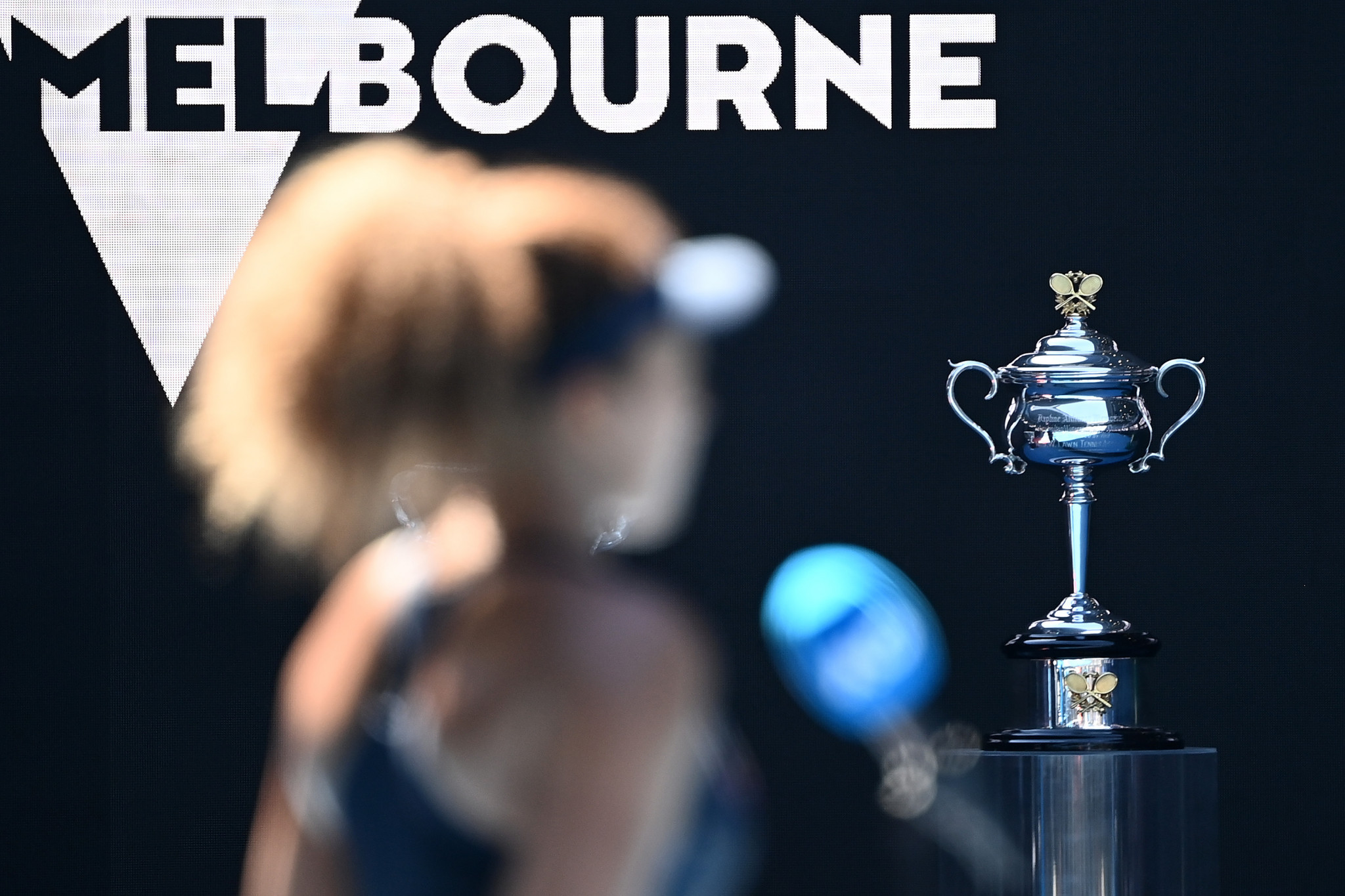 Naomi Osaka is one win away from a second Australian Open title ©Getty Images