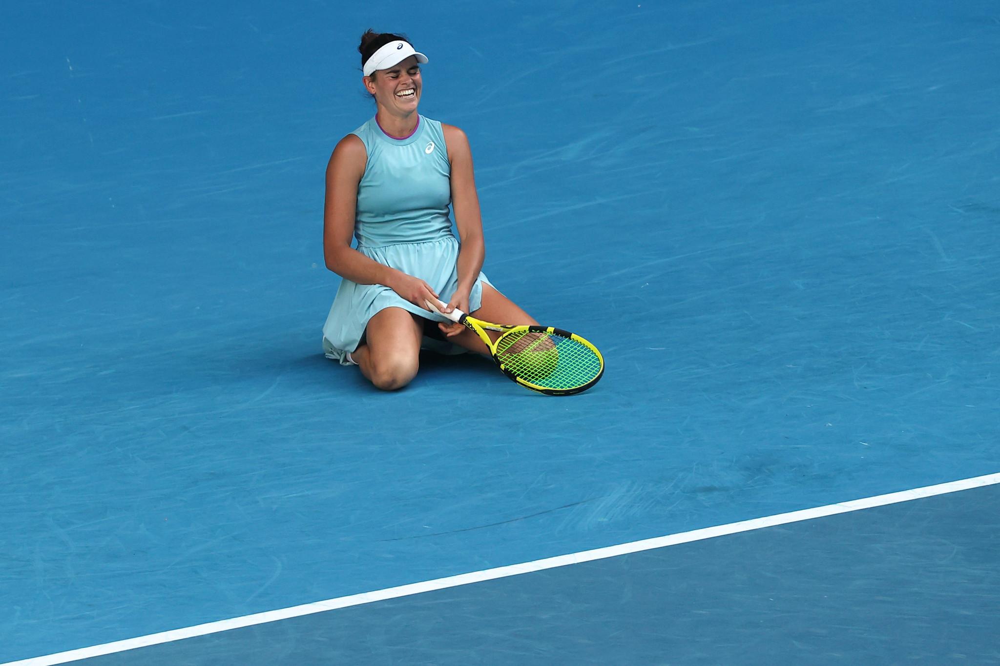 Jennifer Brady advanced to her maiden Grand Slam final ©Getty Images