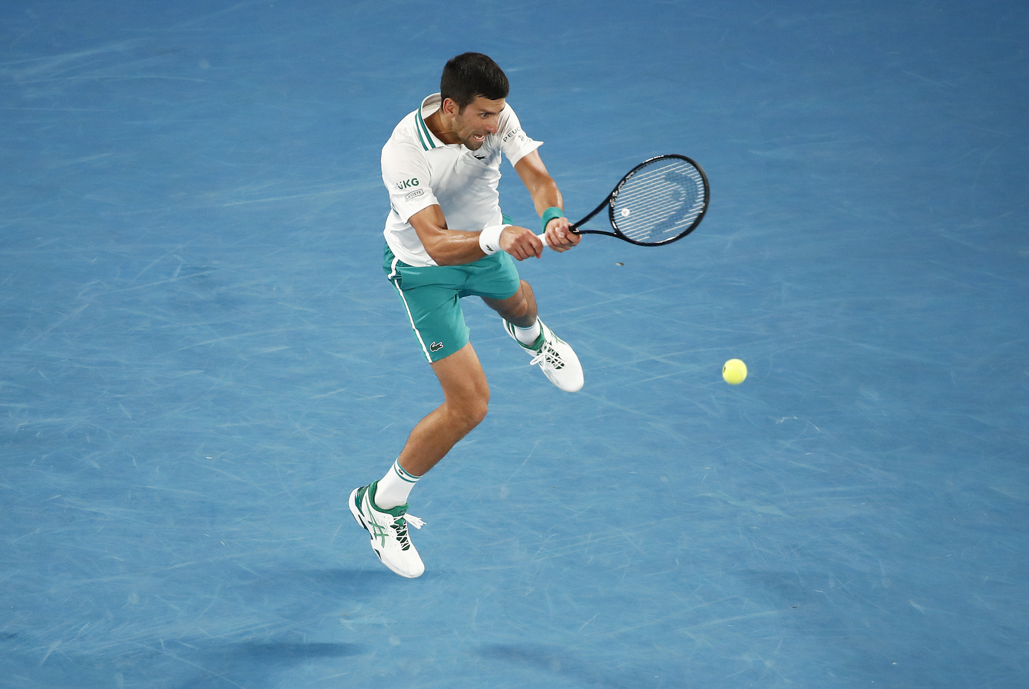 Novak Djokovic earned a straight sets win to reach the men's singles final ©Getty Images