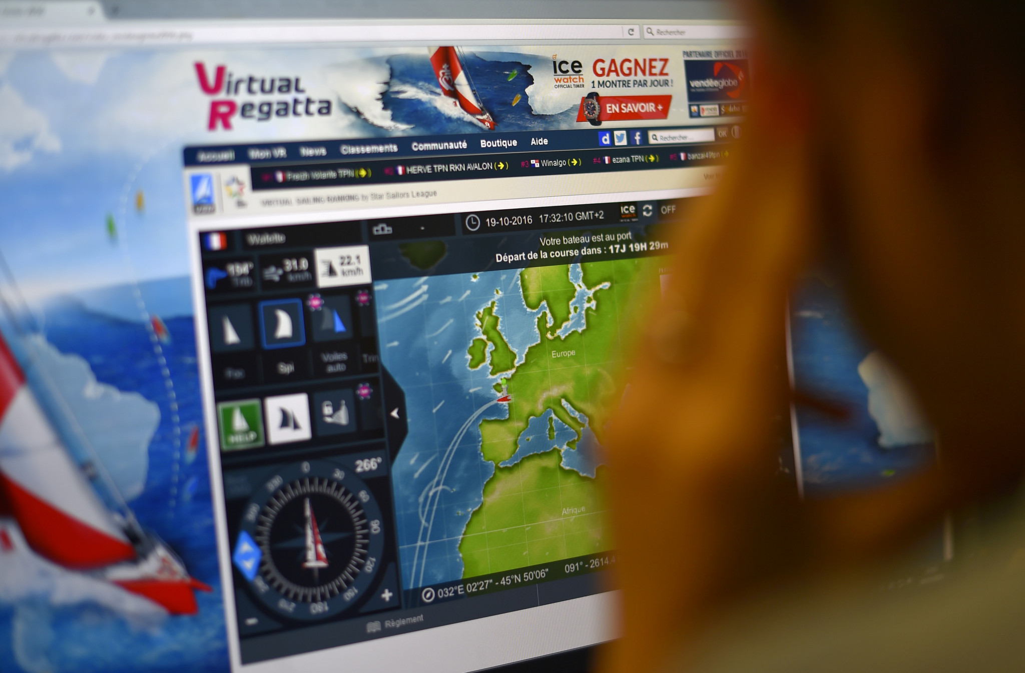 Competition will take place on the Virtual Regatta platform ©Getty Images