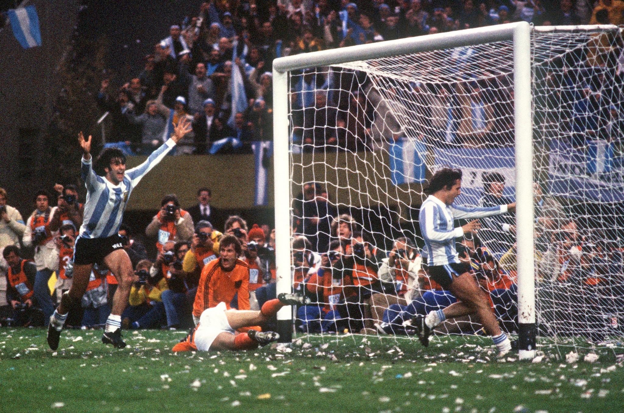 El ganador de la Copa del Mundo de 1978 de Argentina fue el primero © Getty Images del país