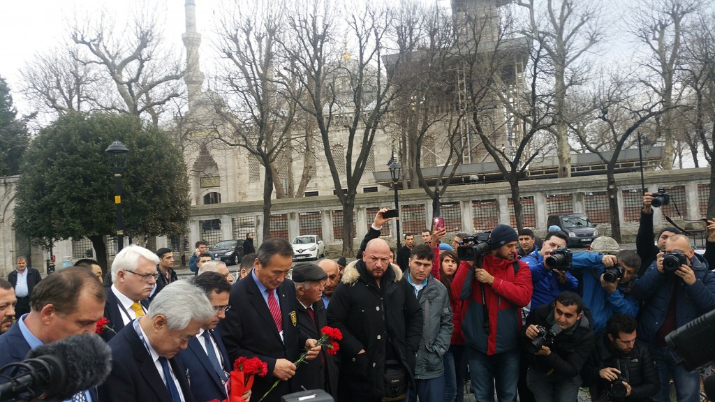 World Taekwondo Federation President visits scene of terrorist attack in Istanbul