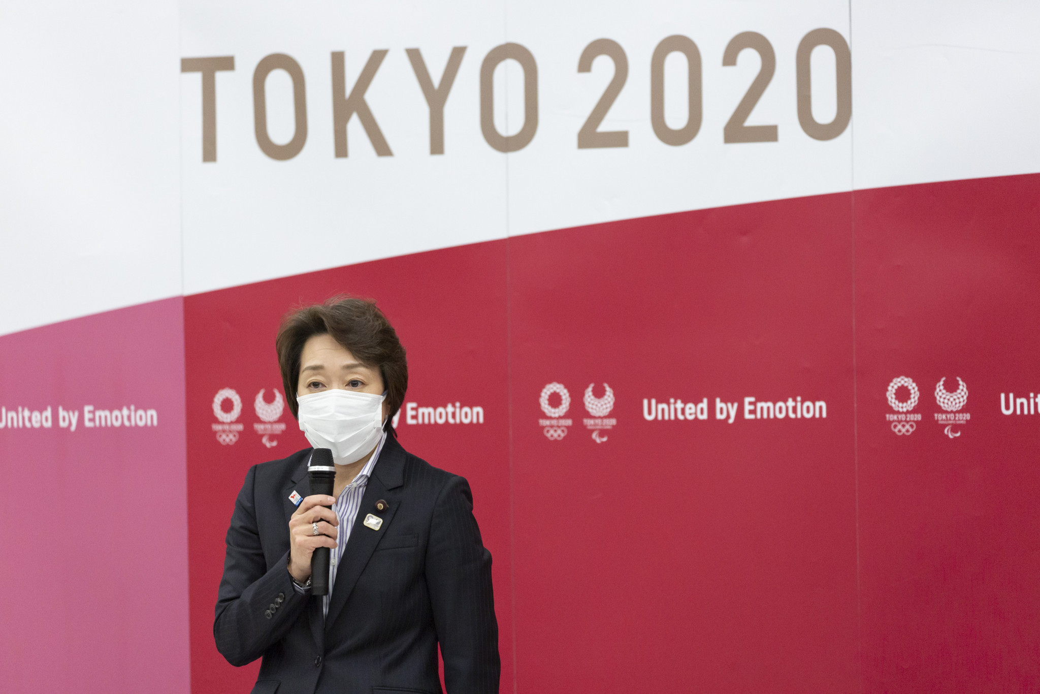 Tokyo 2020 President Seiko Hashimoto is to exclude her predecessor Yoshirō Mori from an official position ©Getty Images