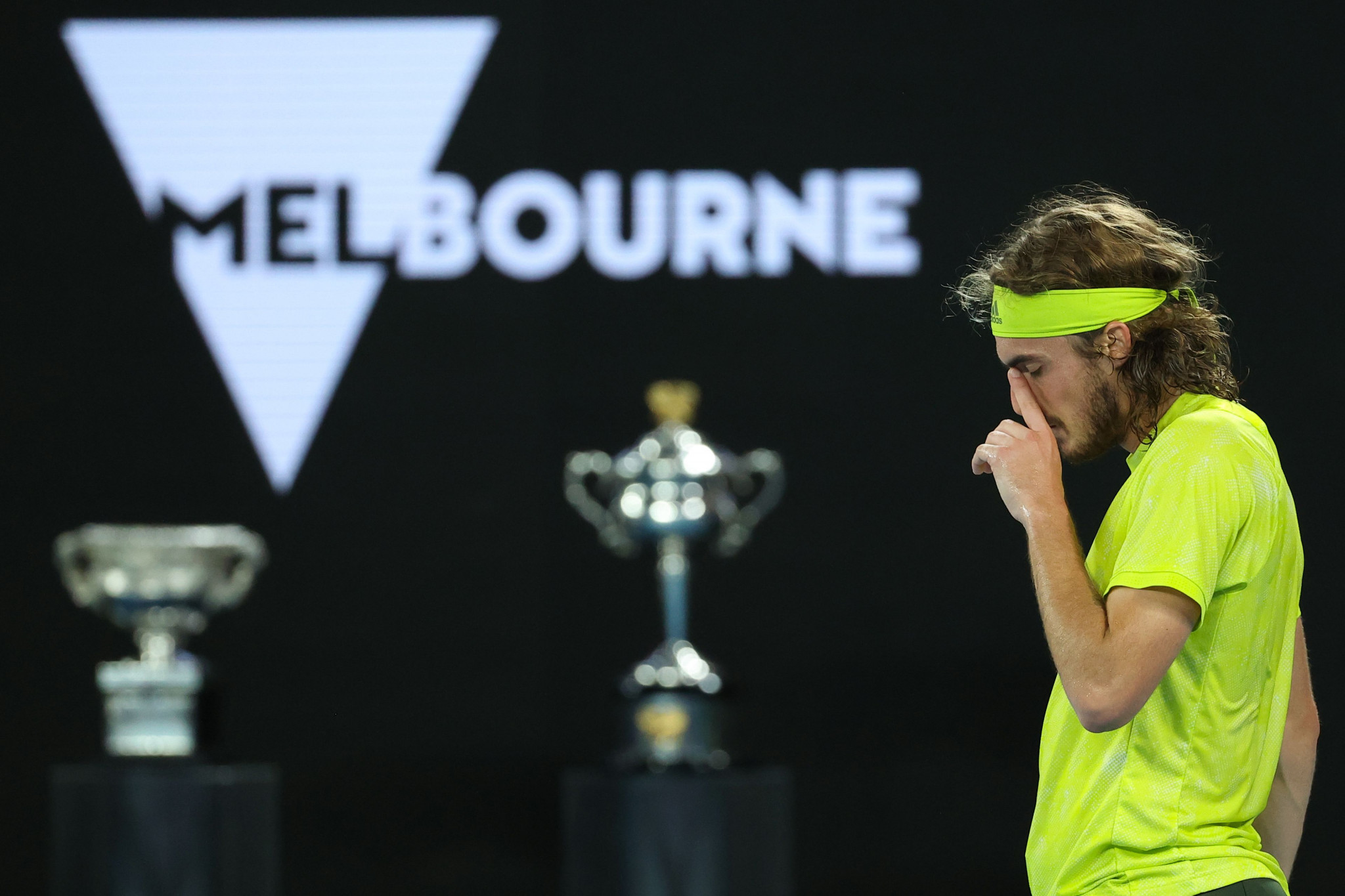 Stefanos Tsitsipas has lost all three of his Grand Slam semi-final matches ©Getty Images