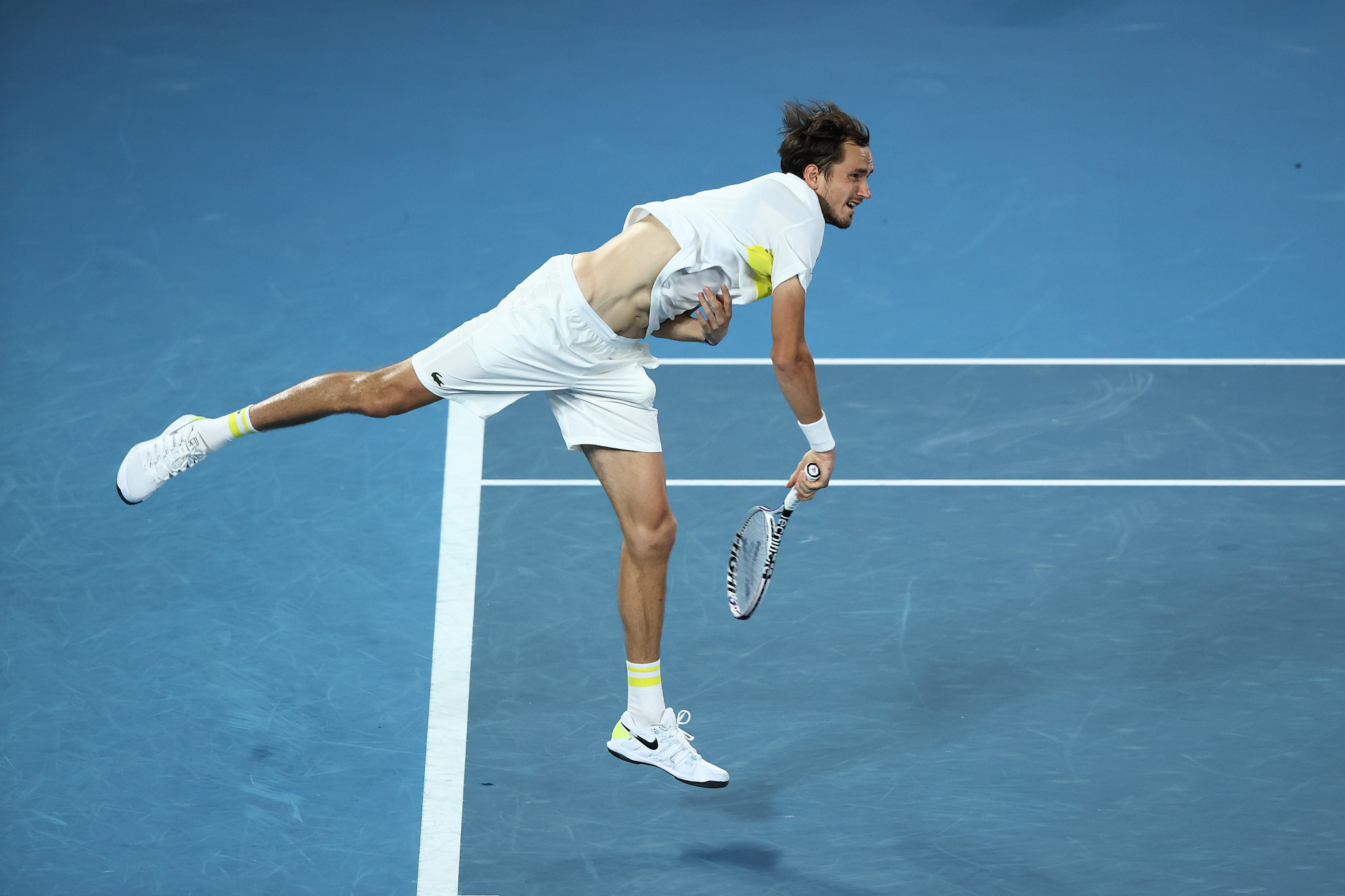 Medvedev into second Grand Slam final at Australian Open