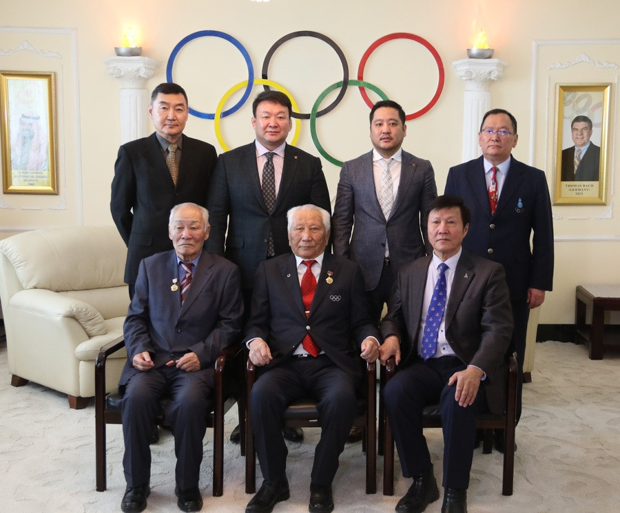 The Mongolian National Olympic Committee has marked its 65th anniversary with a gathering of past NOC Presidents ©MNOC