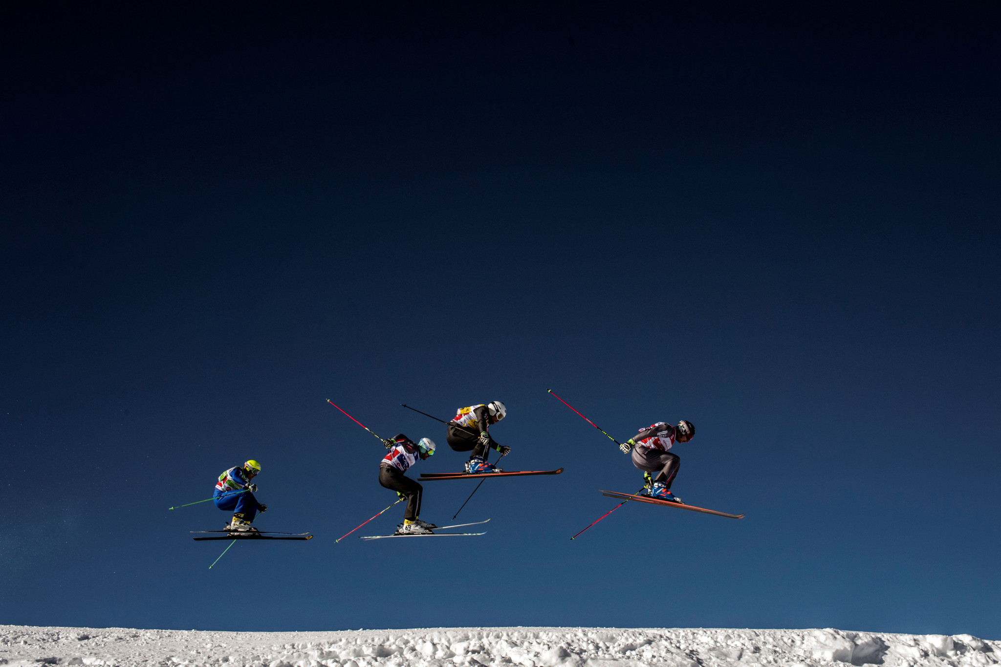 The FIS Ski Cross World Cup took place in Reiteralm ©Getty Images