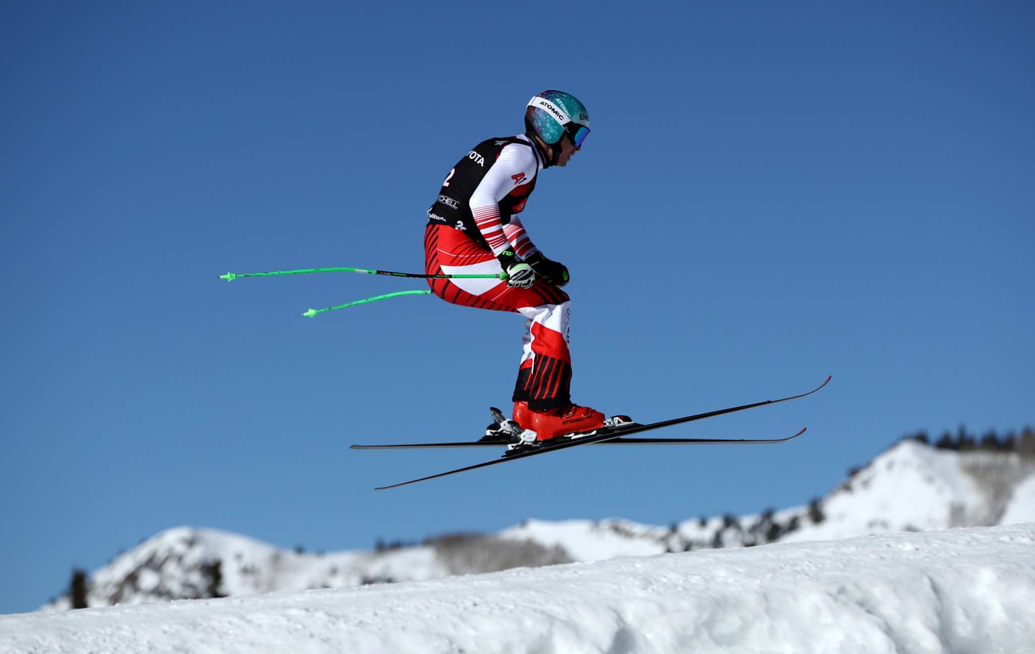 Johannes Rohrweck was the winner of the men's event at the FIS Ski Cross World Cup in Reiteralm ©Getty Images