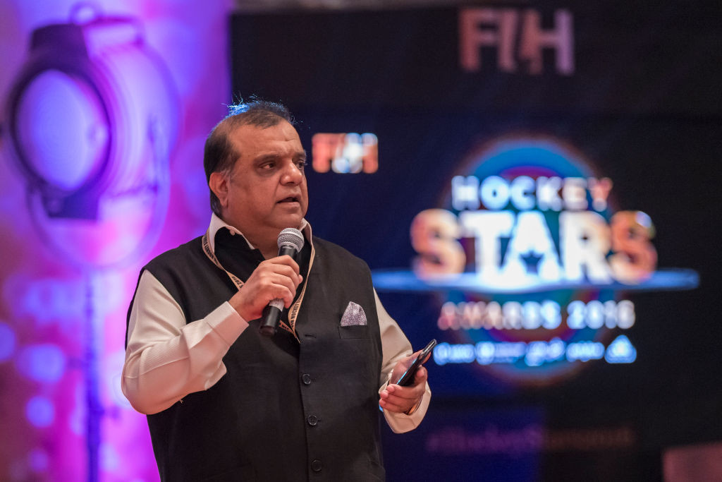 Narinder Batra is to seek re-election as FIH President ©Getty Images