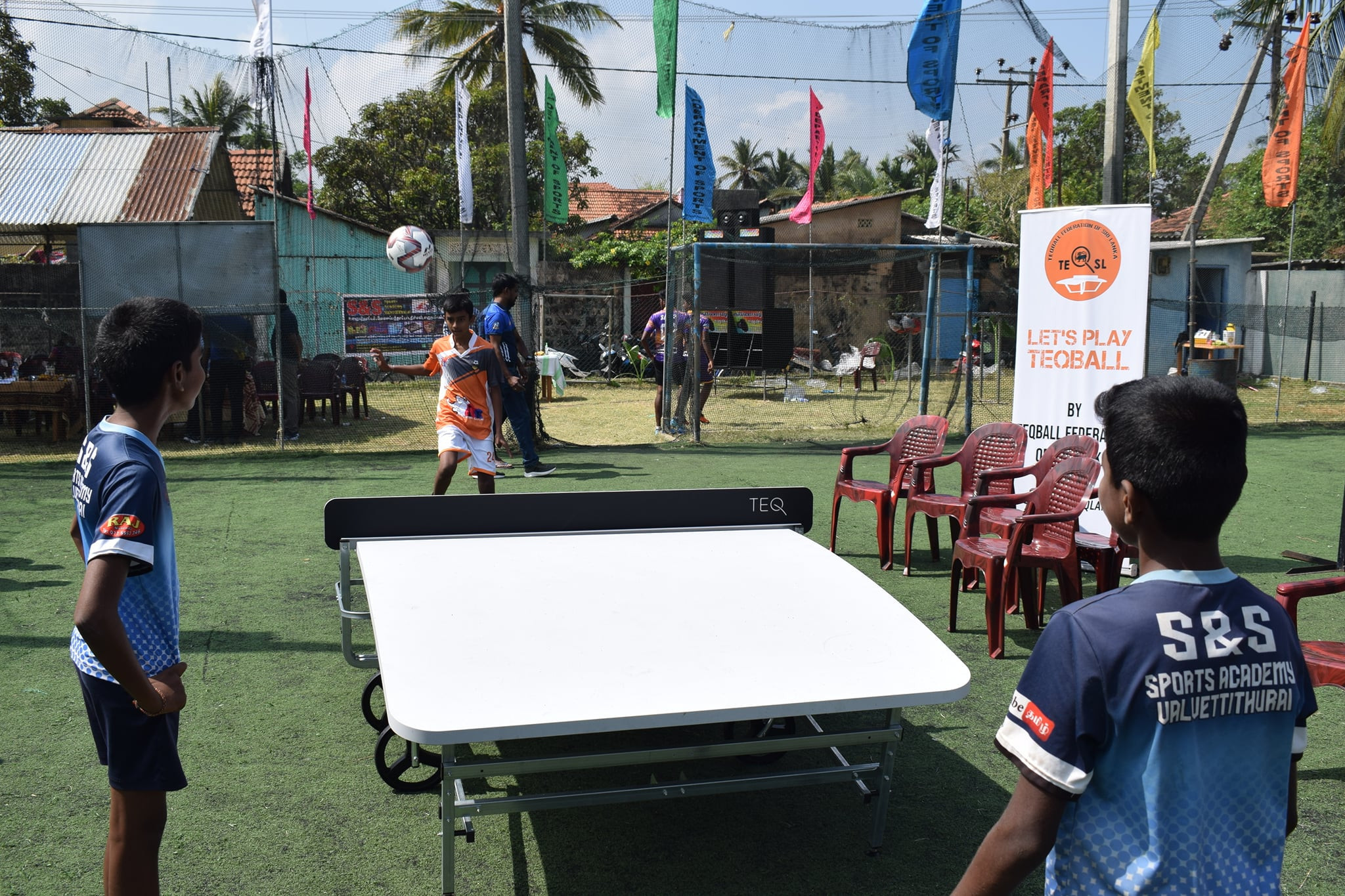 Sri Lanka Teqball Federation to focus on creating positive change through sport