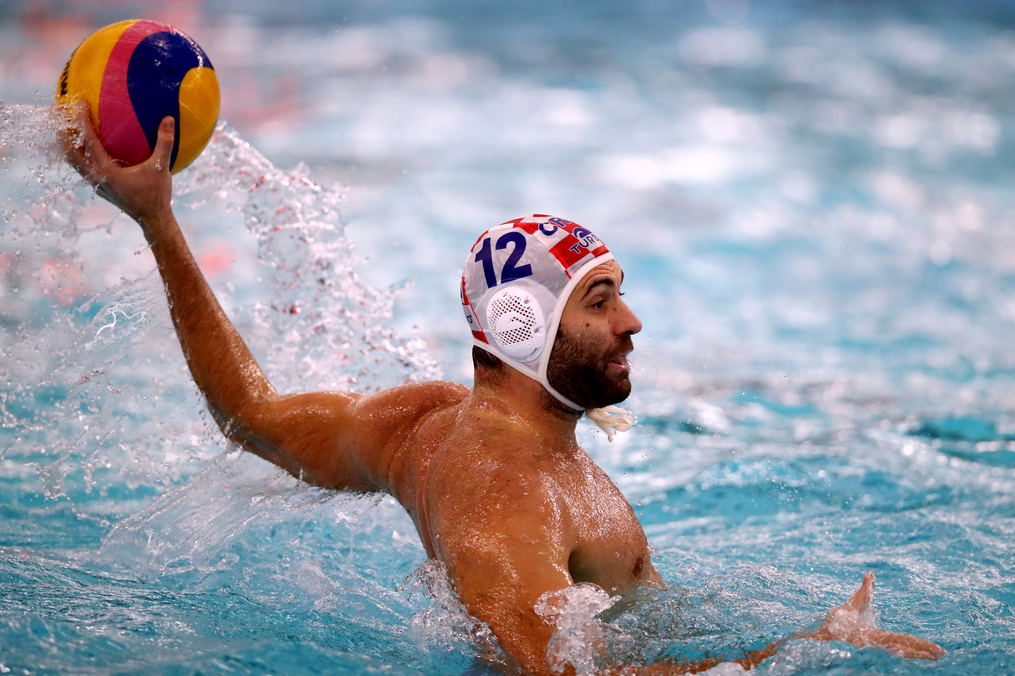 Javier Gadea Garcia helped Croatia run out convincing 15-6 winners over Georgia ©Getty Images