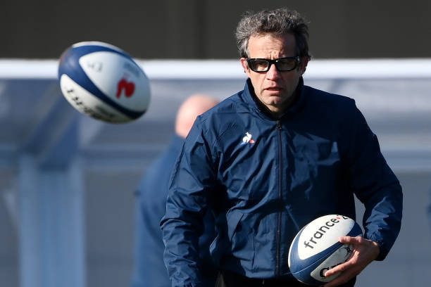 France's head coach Fabien Galthie is already isolating, as are two other members of the squad staff, after testing positive for COVID-19 last week ©Getty Images