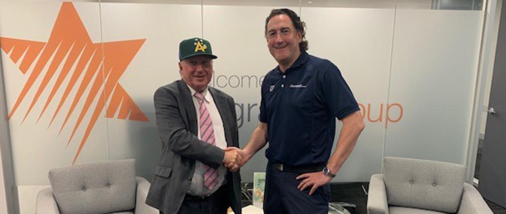 Belgravia Group will become Baseball Australia's major new partner in introducing Baseball5 as part of its renewed business agreement ©Baseball Australia