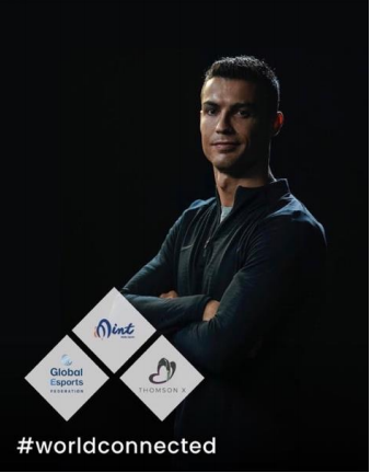 Footballer Cristiano Ronaldo helped promote the recent Global Esports Federation initiative to maintain players' physical and mental health ©GEF