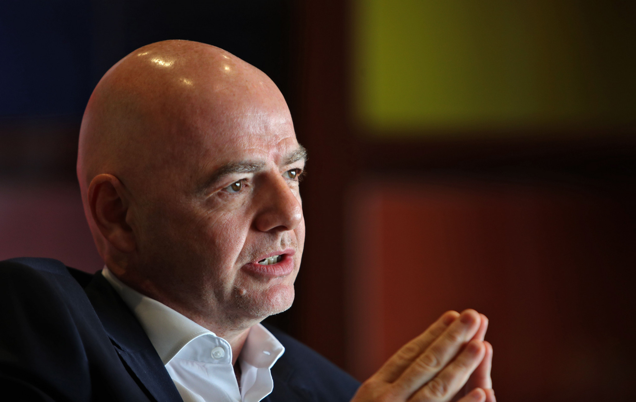 Infantino meets with CAF Presidential hopefuls on African tour