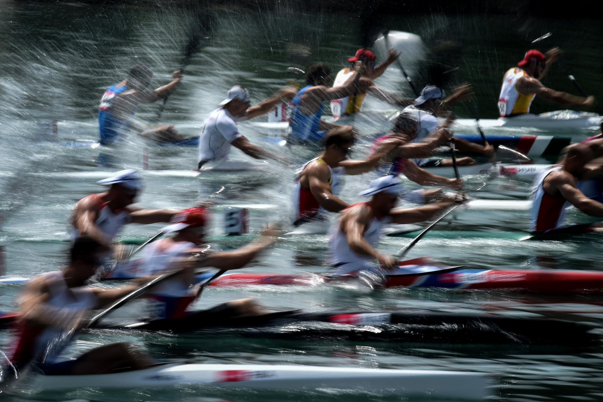 Le Canoe Racing est apparu dans les deux premières éditions des Jeux Européens, dont Bakou 2015 © Getty Images
