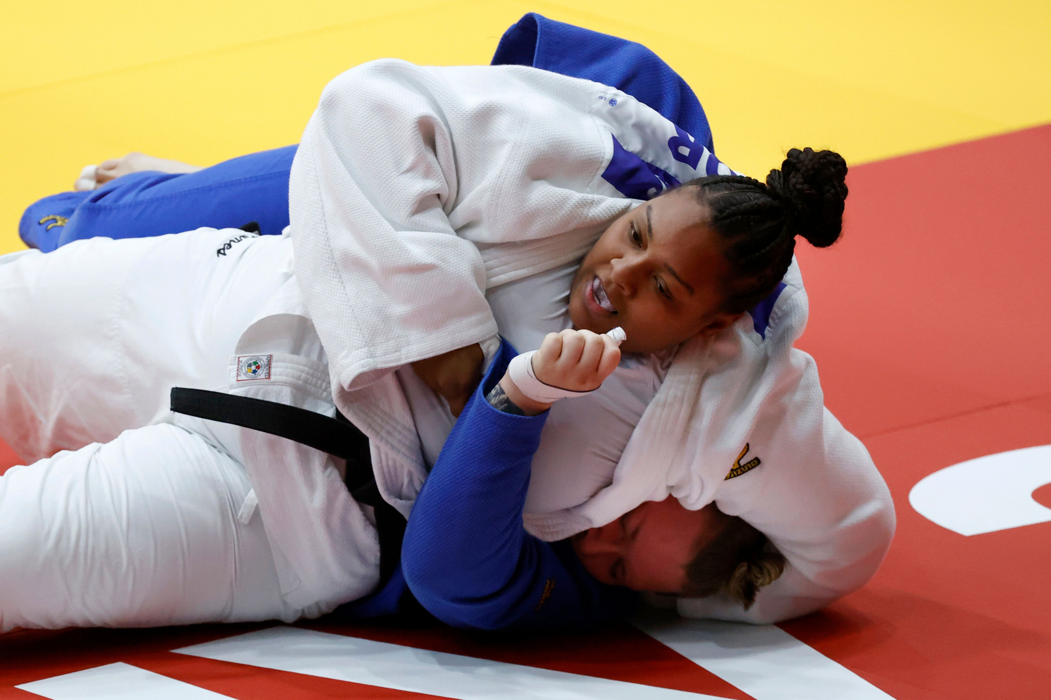 France pick up third gold with quickfire Dicko win to top Tel Aviv Grand Slam medal table