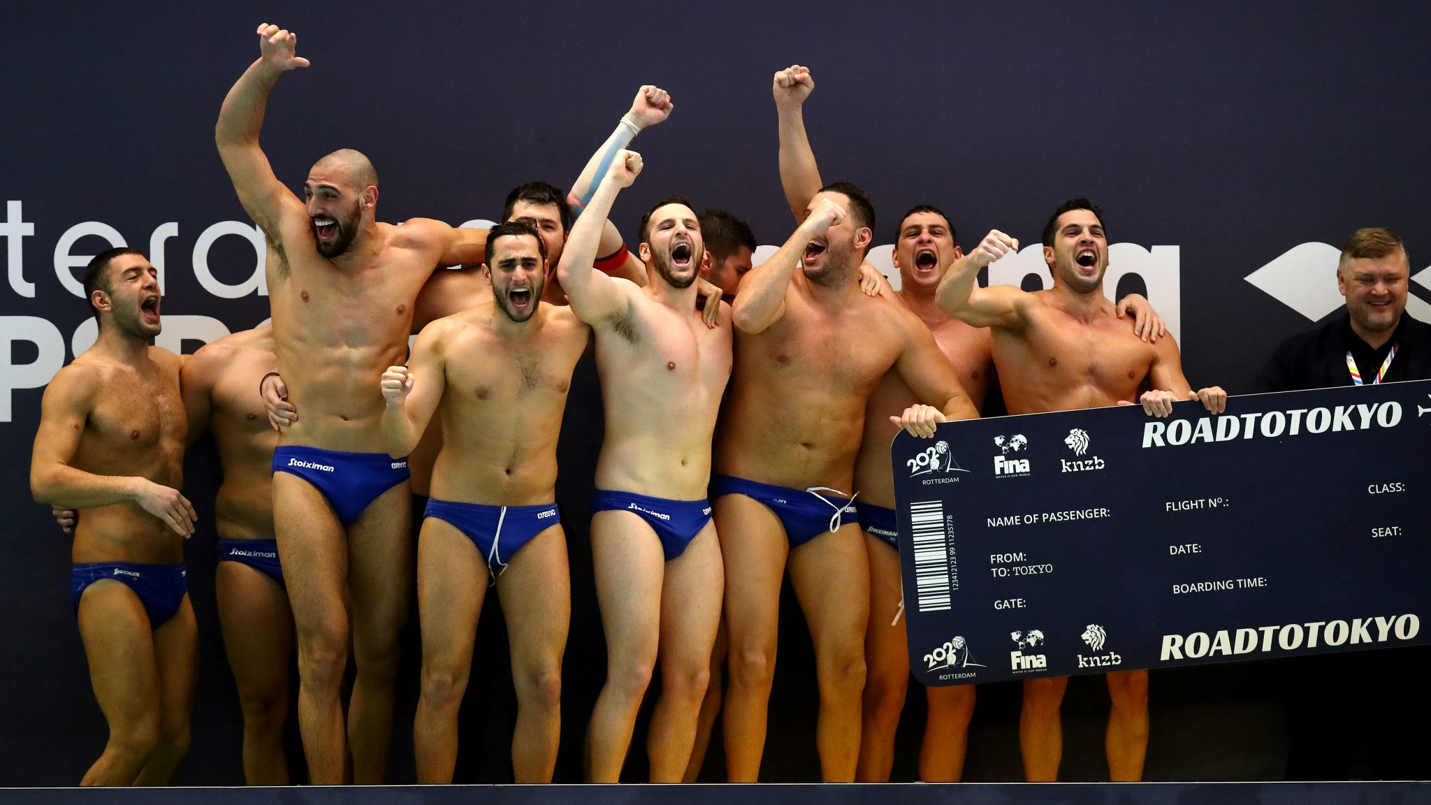 Montenegro and Greece reach Tokyo 2020 after making final of men's Olympic water polo qualification tournament