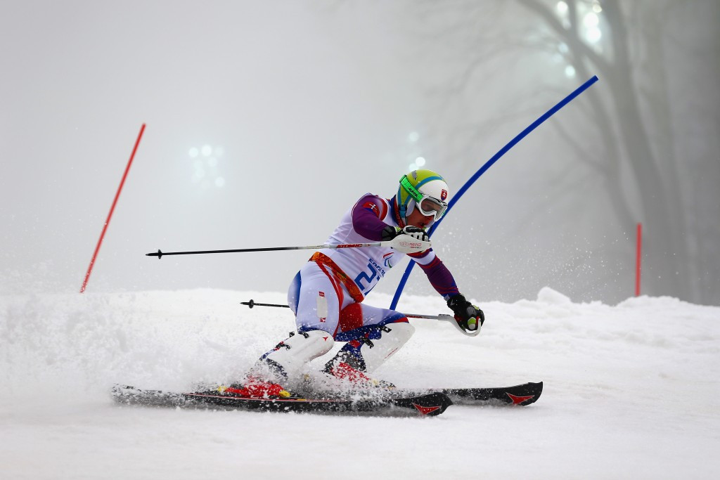 Slovakian defeats Paralmypic champion Redkozubov at IPC Alpine Skiing World Cup