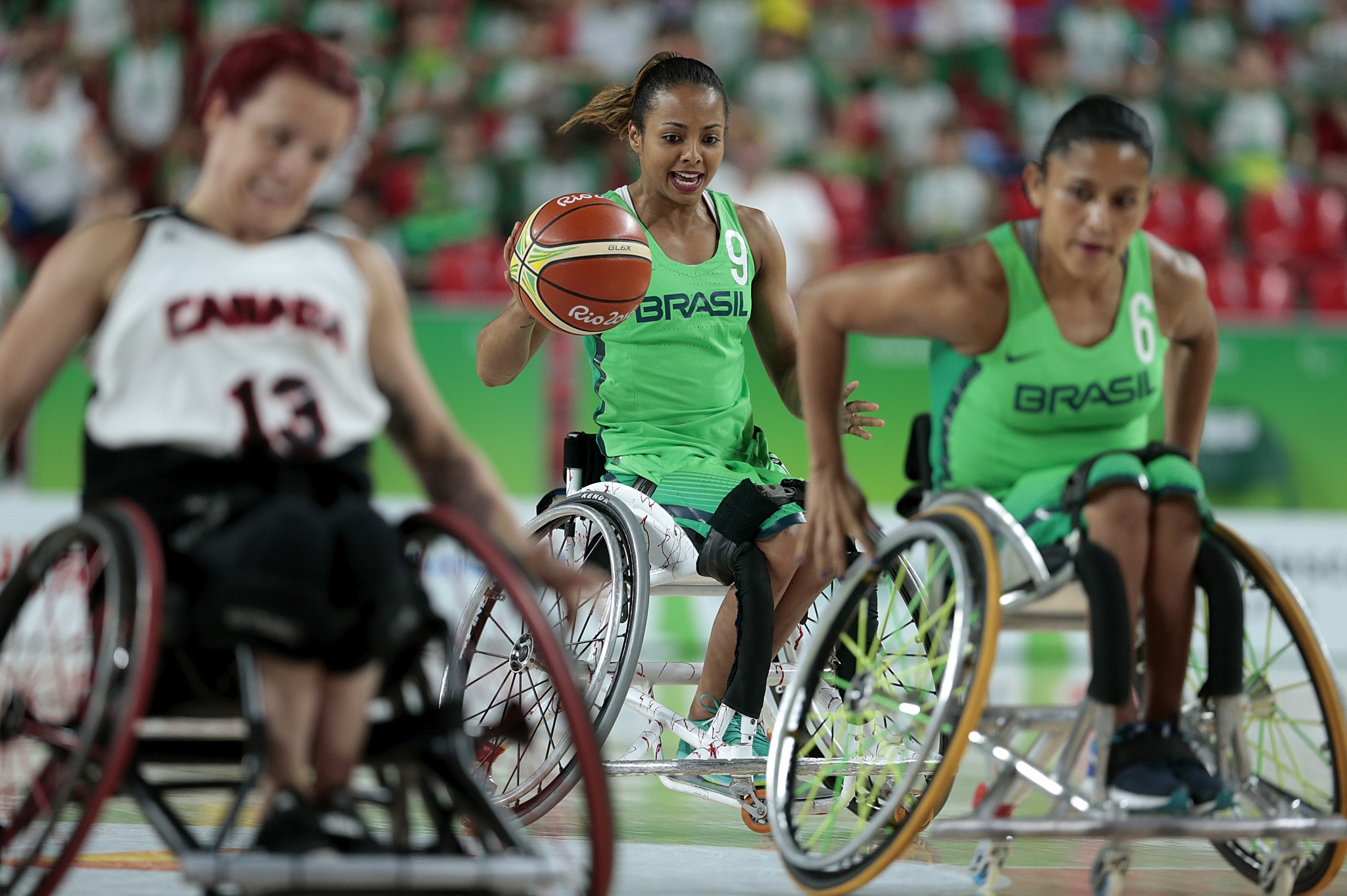 Brazil's women's team lost in the Paralympic quarter-finals at Rio 2016, but won a Parapan American Games bronze medal at Lima 2019 ©Getty Images