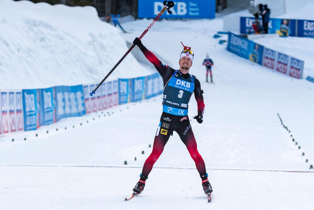 Lægreid seals fourth title as Hauser claims maiden crown at Biathlon World Championships