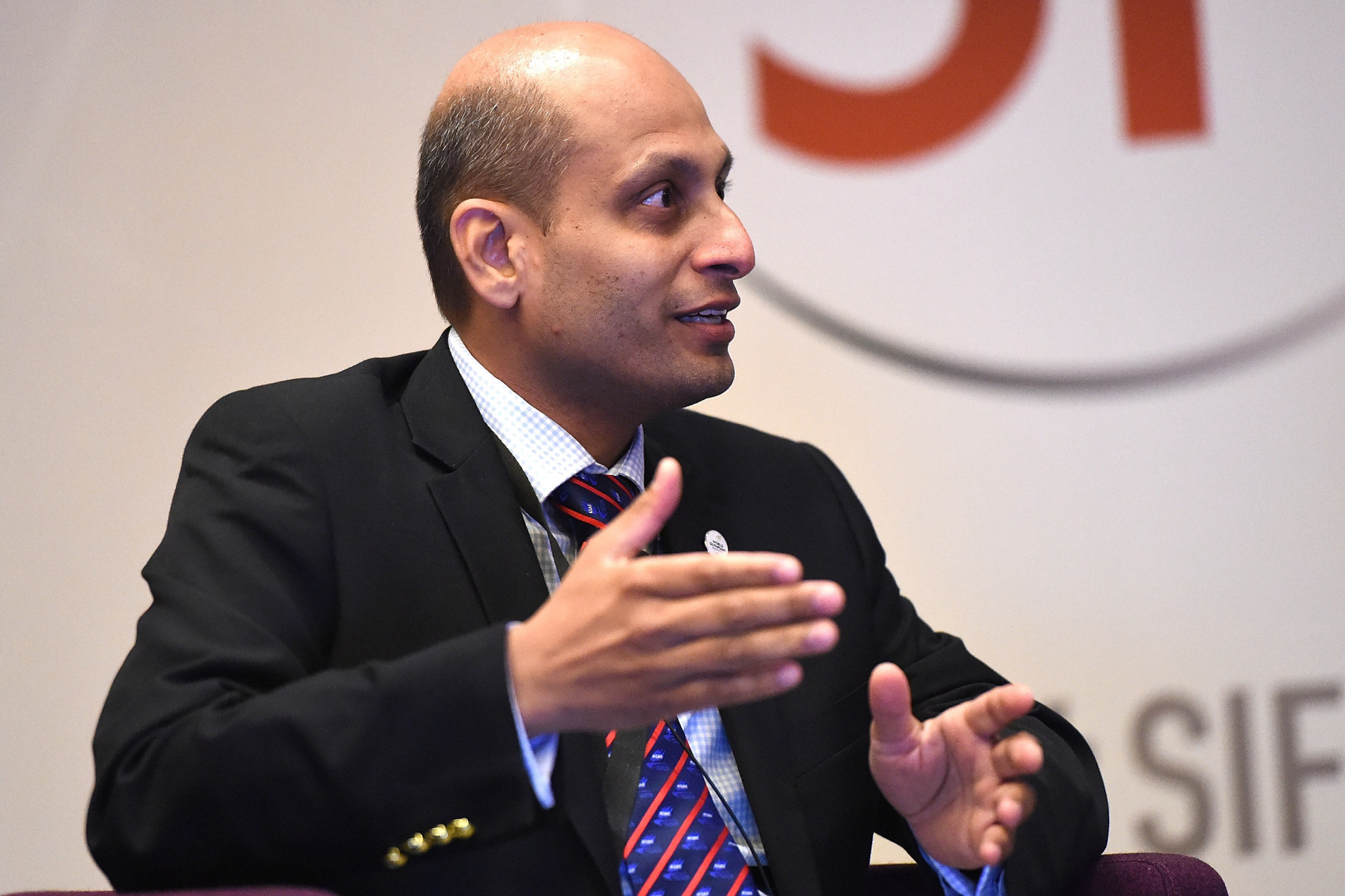 After being re-elected unopposed as ASAF President Dr Shroff said he was targeting helping more countries in Asia to develop stronger sailing programmes ©Getty Images