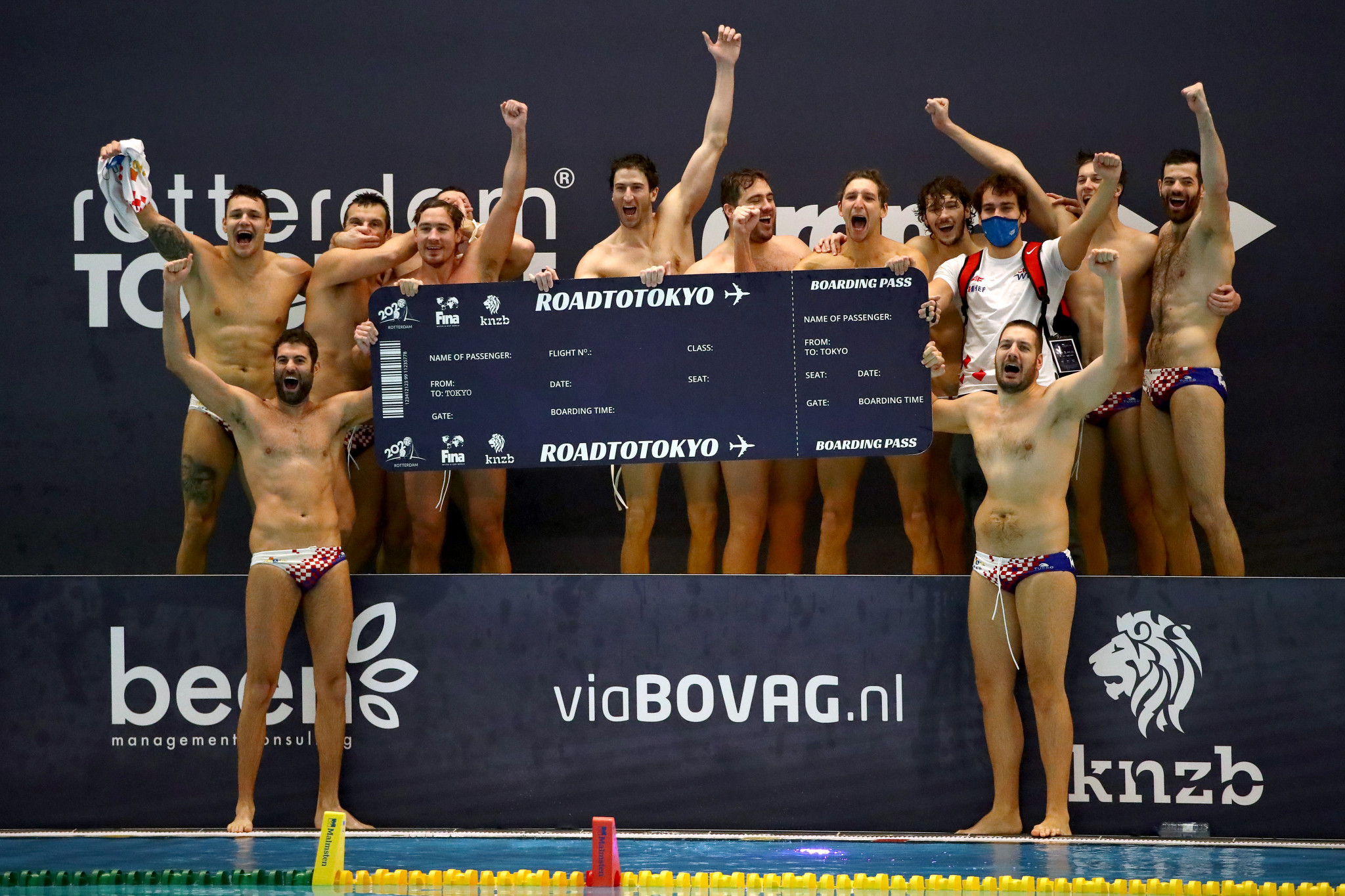 Croatia dramatically claim final Tokyo 2020 men's water polo berth after winning lengthy penalty shoot-out