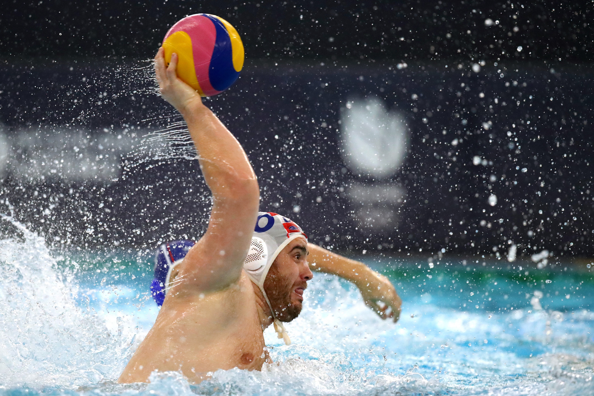 Josip Vrlic scored the crucial penalty for Croatia to secure their place at Tokyo 2020 ©Getty Images
