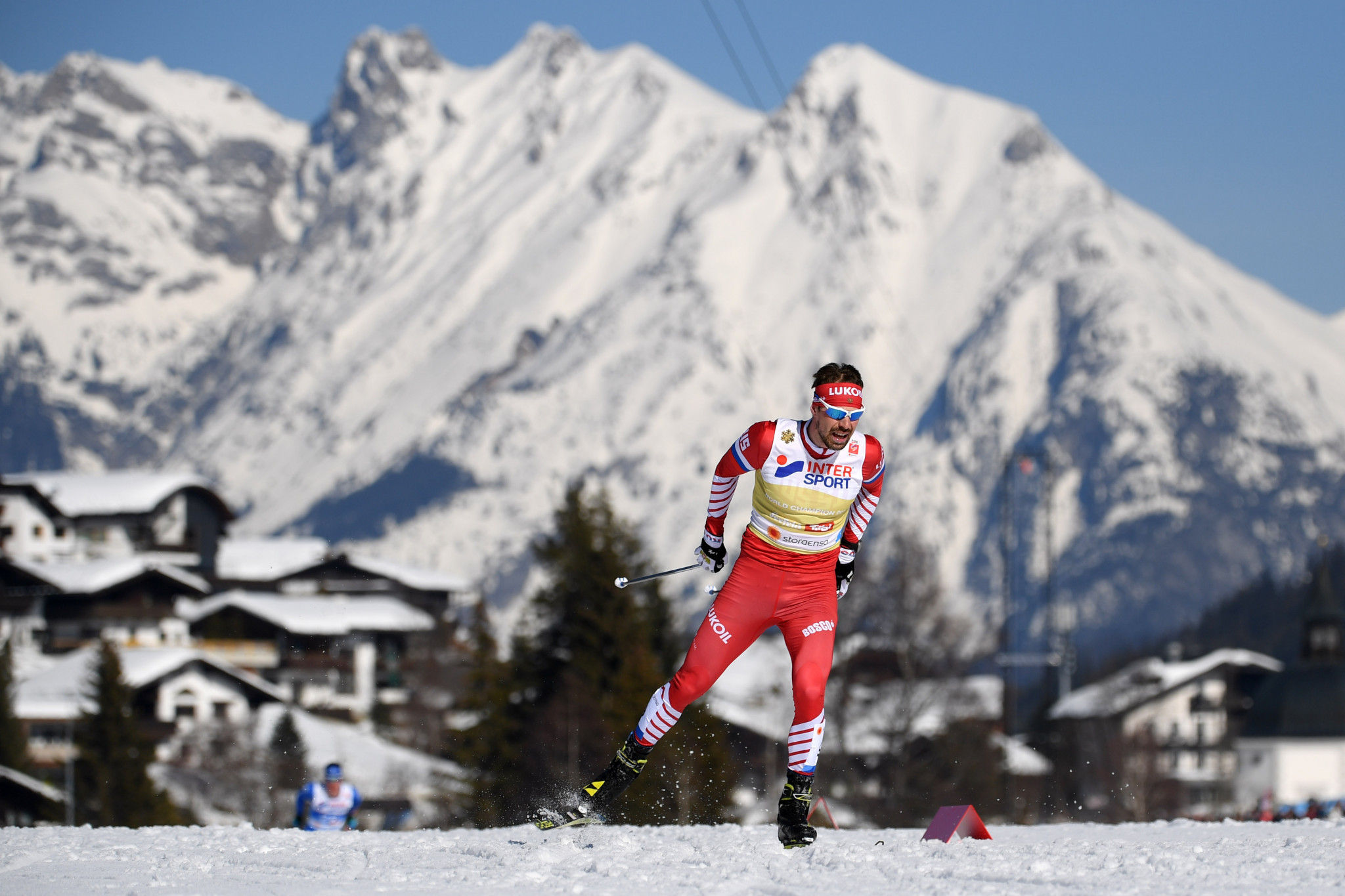 Sergei Ustyugov has secured a top-10 finished at four of six World Cup races this season ©Getty Images