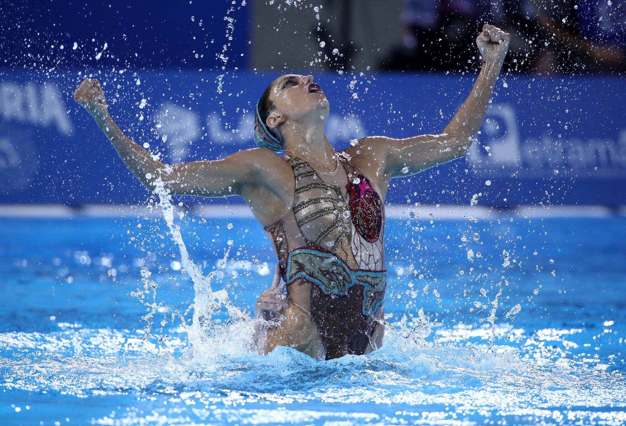 Schroeder and Alvarez earn two gold medals as virtual Artistic Swimming World Series begins