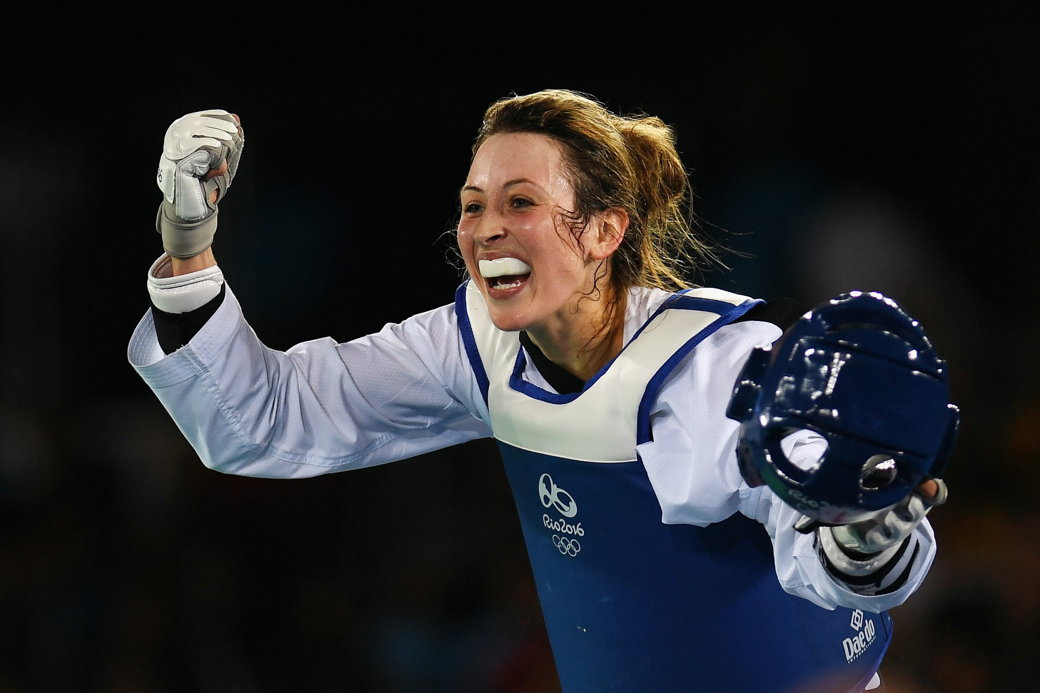 Paul Green coached Jade Jones to two Olympic gold medals ©Getty Images